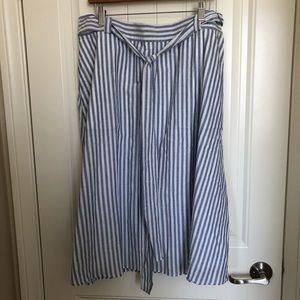 Lane Bryant Striped Skirt (size 20)